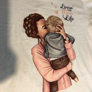 NWT Boy mom T-shirt